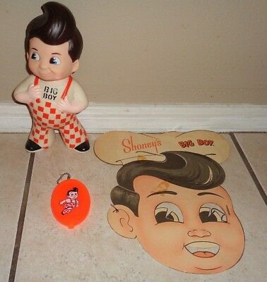 Big Boy Collectable Lot Childrens Mask Menu Big Boy And  Big Boy Change Purse