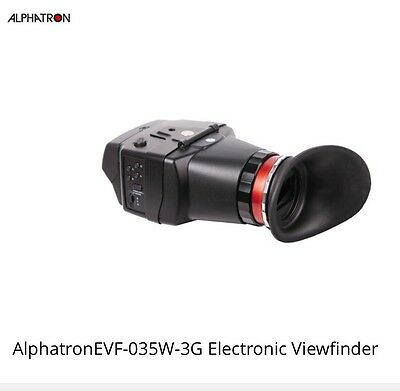 Alphatron EVF-035W-3G VIEWFINDER W/ RETINA LCD And Evf Mount