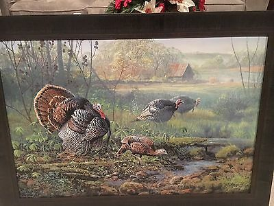 Crawford County Courtship Framed Print -S/n Zoellick F/s!