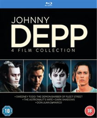 Chloë Moretz, Eva Green-Johnny Depp Collection  Blu-ray NEUF