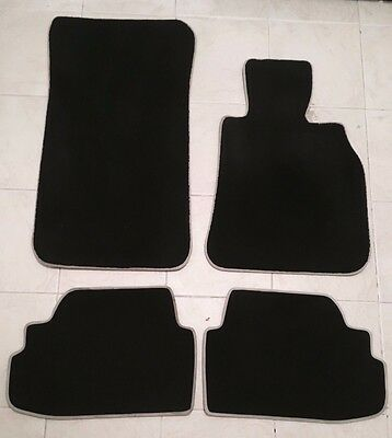 100% Original Genuine Bmw 1 Series Coupe (E82) Full Set Floor Mats 2007 Onwards