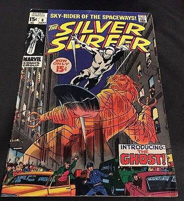 MARVEL Comics -SILVER SURFER vol 1-issue 8 Cents Comic.FN