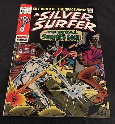 MARVEL Comics -SILVER SURFER vol 1-issue 9 Cents Comic.FN