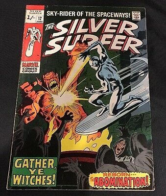 MARVEL Comics -SILVER SURFER vol 1-issue 12 Comic.FN