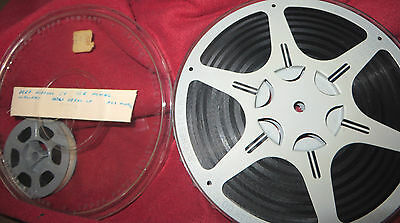 Vintage 8mm Home Movie Film Reel Michigan Winter Vacation Ice Fishing Hunting +