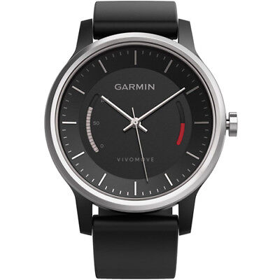Garmin Vivomove Sports Activity Tracker Watch With Sport Band - Black