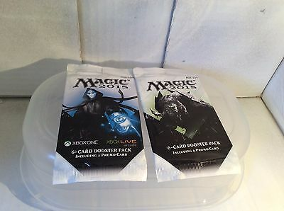 Magic the Gathering 2015 6-Card Booster Packs w/Promo card XBOX MTG