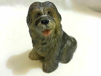 Old English Sheepdog •FREE SHIP New Ray Dog Breed Figurine•Soft Rubber Realistic