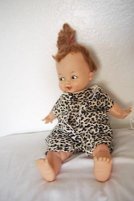 Vintage Hanna-Barbera Original  IDEAL Pebbles Flintstone Doll FS-14