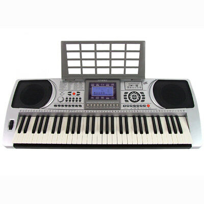 61 Key Electronic Teaching Keyboard Electric Keys Piano Organ USB MP3 Player