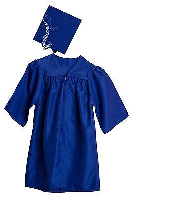Jostens Graduation Cap And Gown Package Large Royal Blue