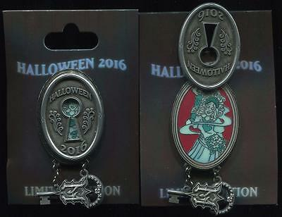 Halloween 2016 Haunted Mansion Lock and Key Bride LE Disney Pin 118512