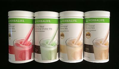 4 Herbalife Formula 1 (F1) 100% Australian Product Choose your Preferred Flavour