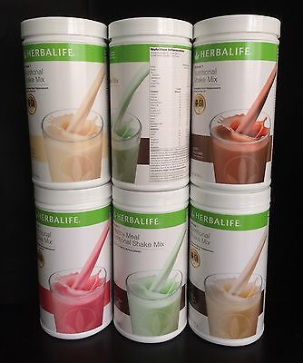 6 Herbalife Formula 1 (F1) 100% Australian Product Choose your Preferred Flavour