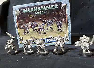 Warhammer 40k Space Marine Scouts New 1998