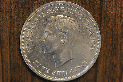 United Kingdom, Great Britain 1951 5 Shillings, Crown. Unc