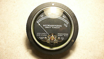 Honeywell Ammeter Model HS3Z – panel meter- good condition