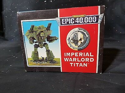Epic warhammer imperial titan MINT 1990