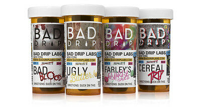 Bad Drip Premium AMERICAN E-Liquid E-Juice  30ML 6 MG Blood Cereal Ugly Butter
