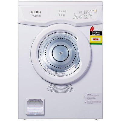 New Euro 6Kg Clothes Dryer With Sensor E6Kdew