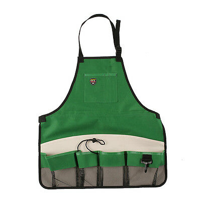 Gardener Storage Apron Carrier With/Pockets For Planting Tools Quick-Pick