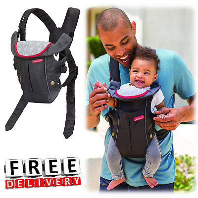 Infant Baby Carrier Newborn Compact Comfortable Infantino Front Backpack New