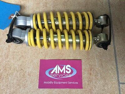 Kymco Midi XLS 8mph Scooter Pair of Front Shocks 16.5cm Long, Spares / Parts