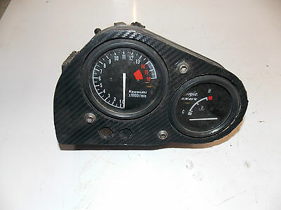 Kawasaki ZX6R  F1 F2 F3  1995 - 1998 rev counter Clocks Instrument - race track