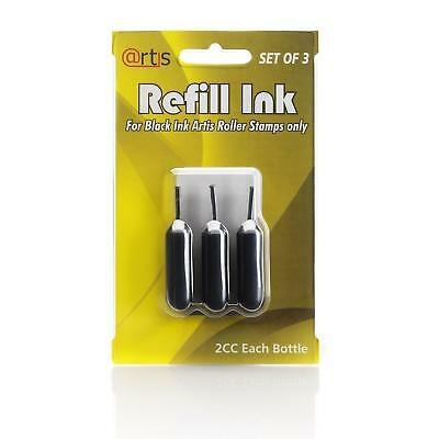 Guard Roller ID Protection Self Inking Identity Erase Rolling Stamp Refill Pack