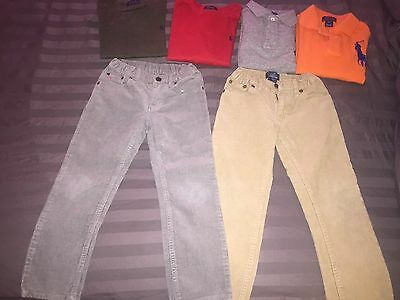 6 Polo Ralph Lauren Toddler Boy Clothing In Size 4T