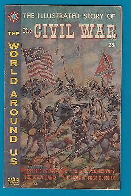 Classics Illustrated Comic 1960 The Civil War.  special  #860