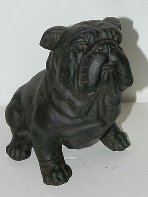Vintage Antique Style French or English Bulldog Statue Indoor Garden Figurine
