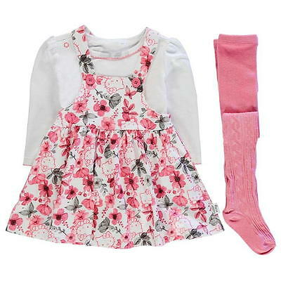 Baby Girls Hello Kitty 3 Piece Outfit Set Ages 0-24 Months