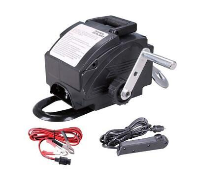 12v x 907kgs MARINE BOAT TRAILER RECOVERY WINCH electric atv quad caravan 4 x 4