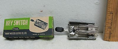 CIRCA 1960's NOS T.M.S. KEY SWITCH TANAKA WIRELESS MADE IN JAPAN