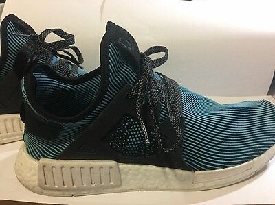 100% Authentic nmd xr1 Bright Cayman Blue/ White /black Men Size 10.5
