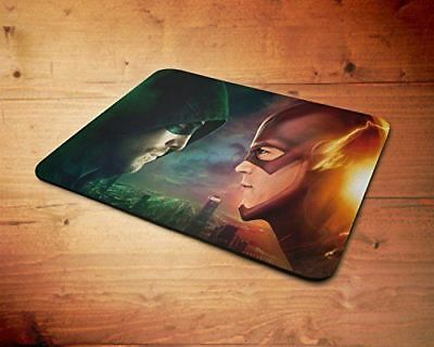 Marvel DC The Flash & Green Arrow Rubber Mouse Mat PC Mouse Pad 63