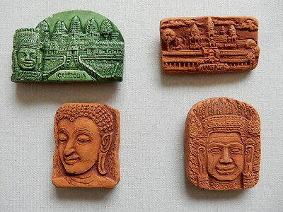 One Selected Souvenir Fridge Magnet from Cambodia