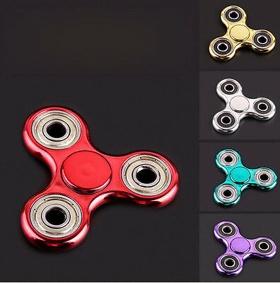 Wholesale Lot 1x/10x/20x Fidget Hand Tri Spinner Stress Reducer Toy Finger Focus