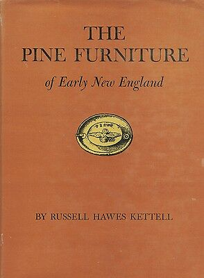 Antique American New England Pine Furniture - Patterns Mfgr. Techniques / Book