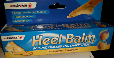 Masterplast Heel Balm For Dry, Cracked And Chapped Heels 70G