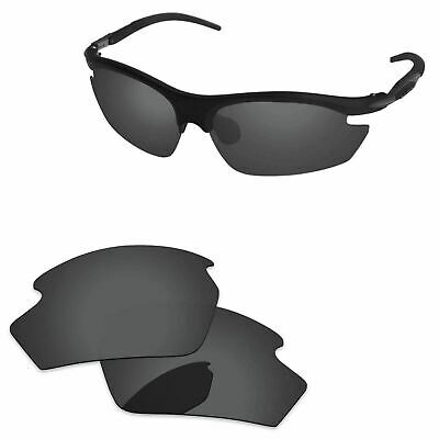 Stealth Black Polarized Replacement Lenses For-Rudy Project Rydon Sunglasses
