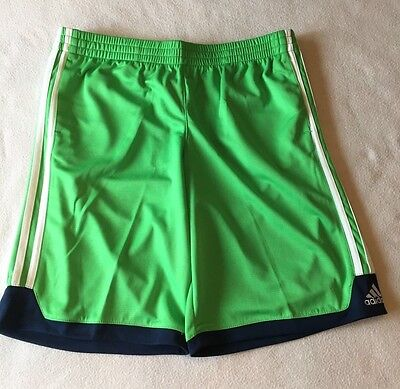 Boy's Size Large 14 16 Adidas Athletic Gym Shorts - Green  NWT Free Shipping!