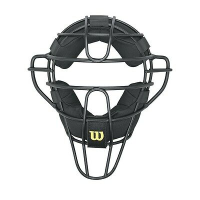 Wilson Dyna-Lite Aluminium Umpire Mask with Memory Foam Pads. Free Shipping