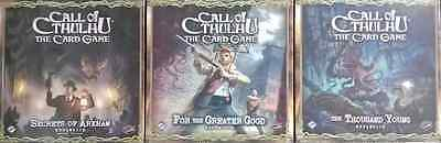 Call of Cthulhu LCG FFG Expansions New Sealed