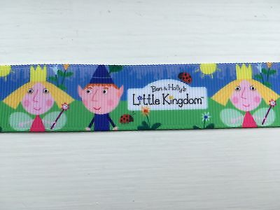 Ben and Holly's Little Kingdom Grosgrain Ribbon 22mm