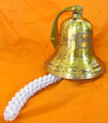 Collectable Sydney Brass Hanging Door Ships Bell   .