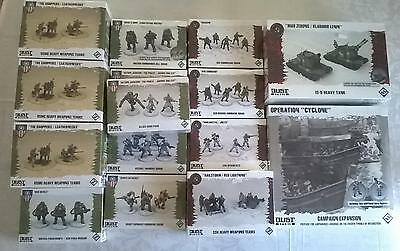 Dust Tactics and Warfare 15 New Sealed Boxes