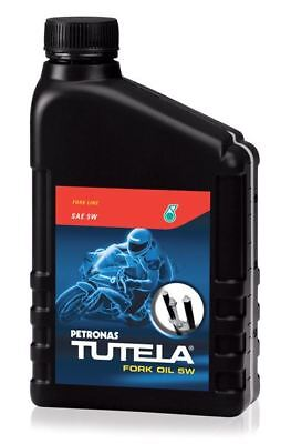 Petronas Tutela Motorcycle & Scooter Fork Oil 5W 1ltr