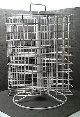 Paint Storage Spin Wire Rack 160 Slots for 2 oz Craft Paints